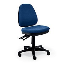 Armless Fabric Ergonomic Task Chair, RMT-DAN-100