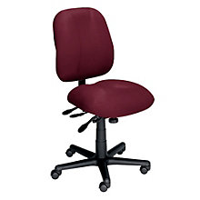 24-Hour Armless Ergonomic Task Chair, ERC-E52884
