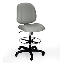 24-Hour Armless Mid Back Stool, ERC-E52851-ST