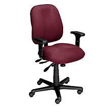 24-Hour Mid Back Ergonomic Task Chair, ERC-E52854-A1075XL
