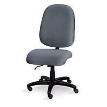 Armless Big and Tall Ergonomic Task Chair, ERC-E53584
