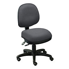 Armless Ergonomic Task Chair, ERC-E20652