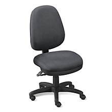 High Back Armless Ergonomic Task Chair, ERC-E20682