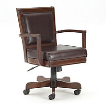 Ambassador Adjustable Office Chair in Bonded Leather, 8803919