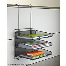 Onyx Three Tray Panel Organizer, 8802491