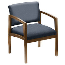 Lenox Oversized Guest Chair in Designer Upholstery, 8802797