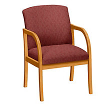 Weston Oversized Guest Chair in Vinyl, LES-10351