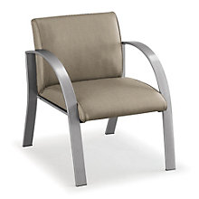 400 lb Weight Capacity Guest Chair in Fabric, NBF-E18911F