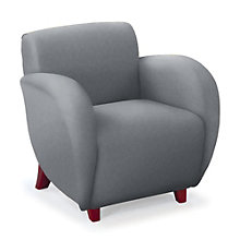 Curve Fabric Club Chair, NBF-SF2471