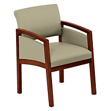 Lenox Panel Arm Fabric Guest Chair, LES-L1131G6F