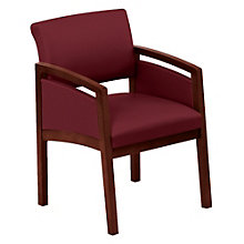 Lenox Panel Arm Fabric Guest Chair, 8802862