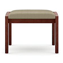 Lenox Single Seat Fabric Bench, LES-L1001B5F