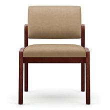 Lenox Armless Vinyl Guest Chair, 8802864