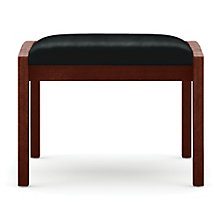 Lenox Single Seat Vinyl Bench, LES-L1001B5V