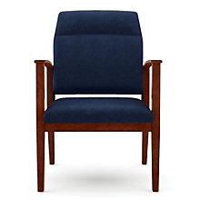 Amherst Fabric Big & Tall Extended Motion Back Guest Chair, LES-K1851G5F