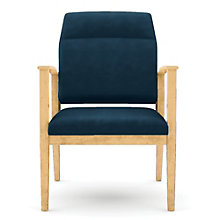 Amherst Vinyl Big & Tall Extended Motion Back Guest Chair, LES-K1851G5V