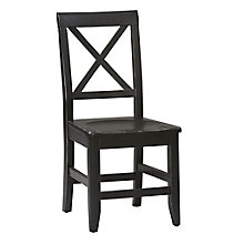 Anna Cross Back Solid Wood Dining Chair, 8805189