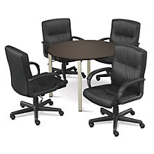 "At Work 42"" Round Conference Table with Four Chairs, OFG-CT0050"