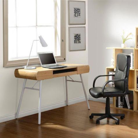 48 Quot Modern Slim Computer Desk By Techni Mobili