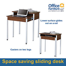 "Retractable Surface Student Desk- 31.5"", 8801298"