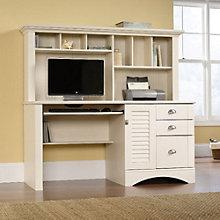 Harbor View Computer Desk with Hutch, SAU-401634S