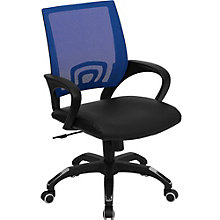 Southport Task Chair in Mesh and Bonded Leather, 8803013