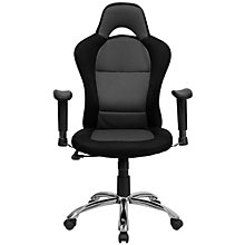 Roosevelt Computer Chair in Mesh Fabric with Headrest, 8803022
