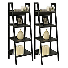 Ladder Collection Four Shelf Bookcase Set, 8803947