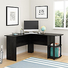 Westlake Collection L-Desk with Shelves, 8803955