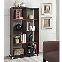Mason Ridge Eight Shelf Mobile Bookcase , 8803958