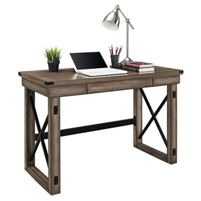 most writing desks also feature a single pullout drawer for pens pencils and small office supplies