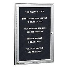 Enclosed Indoor Directory Board 3'W x 3'H, 8804204