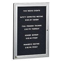 Enclosed Indoor Directory Board 3'W x 3'H, 8804204
