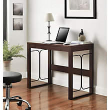 "Parsons Desk with Decorative Frame - 39""W, 8807693"