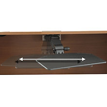 Black Articulating Keyboard Tray, BUS-AC99801-03