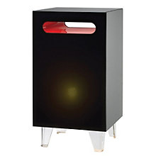 Nebula Tall Modern Lighted End Table, 8801547