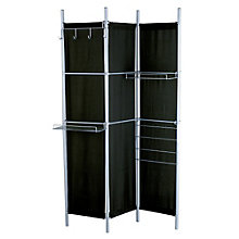 "Folding 48""W x 71""H Partition with Storage , 8801937"