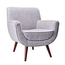 Cormac Wood Leg Guest Chair in Fabric, 8804347