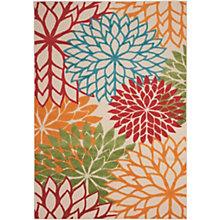 Floral Indoor/Outdoor Area Rug 9.5'W x 13'D, 8803838