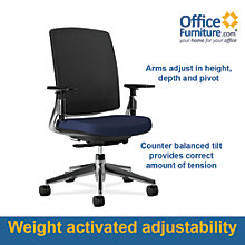 Cpod Mesh Back Ergonomic Office Chair, ALS-57112-T2