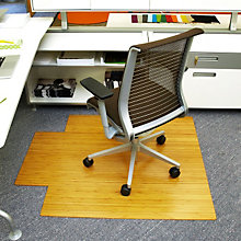 """44"""" x 52"""" Roll-Up Bamboo Mat - 8mm Thick, ANJ-AMB2400"""
