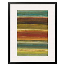 "Framed 32"" x 43"" Organic Layers Print by Jeni Lee, ARS-10399"