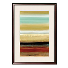 "Framed 32"" x 43"" Horizon Lines Print by Catherine Tesla, ARS-10401"