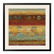 "Framed 33"" x 33"" Pattern Play Print by Tom Reeve, ARS-10402"