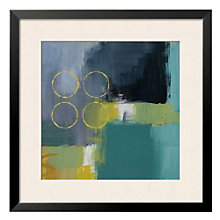 "Framed 27"" x 27"" Mediterranean Square Print by Lanie Loreth, ARS-10405"