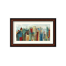 Framed Art Print- Sunlight City by Tom Reeves, 8801428