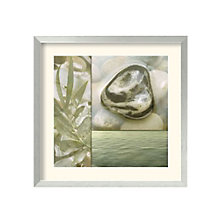 Framed Art Print- Zen Elements IV by Donna Geissler, 8801451