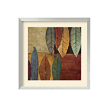 Framed Art Print- Tall Leaves Square II by Patricia Pinto, 8801453