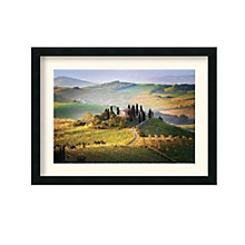 Framed Art Print- Belvedere Sunrise Tuscany by Jim Nilsen, 8801454