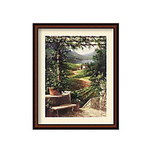 Framed Art Print- Chianti Vineyard by Art Fronckowiak, 8801455